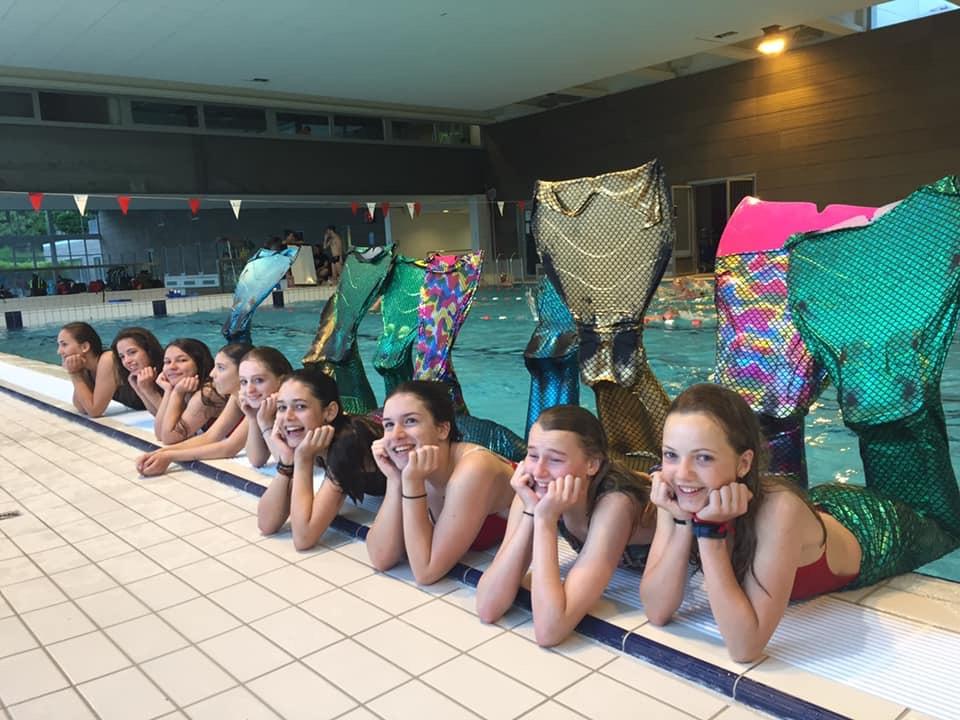 Atelier de nage sirène AS Caluire